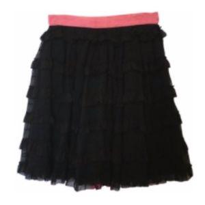 Red Valentino Black Skirt  XS